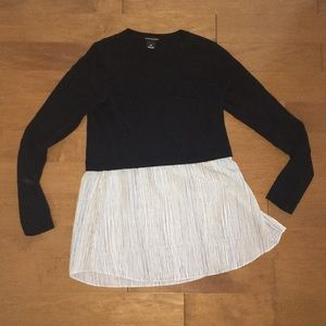 Club Monaco 🇲🇨 crewneck sweater and bag